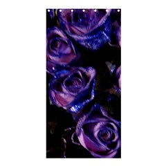 Purple Glitter Roses Valentine Love Shower Curtain 36  X 72  (stall)  by yoursparklingshop
