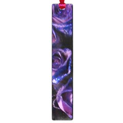 Purple Glitter Roses Valentine Love Large Book Marks by yoursparklingshop