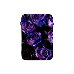 Purple Glitter Roses Valentine Love Apple Ipad Mini Protective Soft Cases by yoursparklingshop