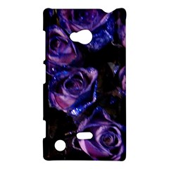 Purple Glitter Roses Valentine Love Nokia Lumia 720 by yoursparklingshop