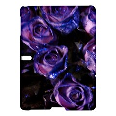 Purple Glitter Roses Valentine Love Samsung Galaxy Tab S (10 5 ) Hardshell Case  by yoursparklingshop