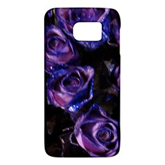 Purple Glitter Roses Valentine Love Galaxy S6 by yoursparklingshop