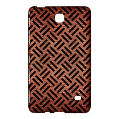 Woven2 Black Marble & Copper Brushed Metal (r) Samsung Galaxy Tab 4 (7 ) Hardshell Case  by trendistuff