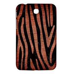 Skin4 Black Marble & Copper Brushed Metal (r) Samsung Galaxy Tab 3 (7 ) P3200 Hardshell Case  by trendistuff