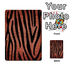 Skin4 Black Marble & Copper Brushed Metal Multi Purpose Cards (rectangle) by trendistuff