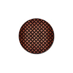 Circles3 Black Marble & Copper Brushed Metal (r) Golf Ball Marker (10 Pack) by trendistuff