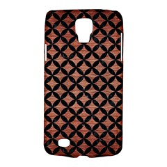 Circles3 Black Marble & Copper Brushed Metal (r) Samsung Galaxy S4 Active (i9295) Hardshell Case by trendistuff