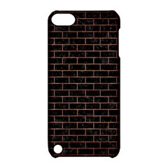 Brick1 Black Marble & Copper Brushed Metal Apple Ipod Touch 5 Hardshell Case With Stand by trendistuff