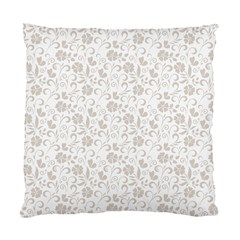 Elegant Seamless Floral Ornaments Pattern Standard Cushion Case (two Sides) by TastefulDesigns