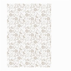Elegant Seamless Floral Ornaments Pattern Small Garden Flag (two Sides) by TastefulDesigns