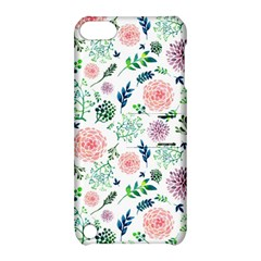 Hand Painted Spring Flourishes Flowers Pattern Apple iPod Touch 5 Hardshell Case with Stand by TastefulDesigns