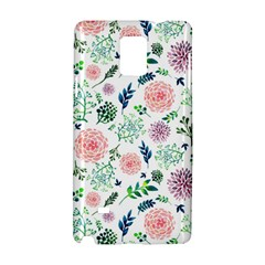 Hand Painted Spring Flourishes Flowers Pattern Samsung Galaxy Note 4 Hardshell Case by TastefulDesigns