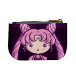 CutiE Black Lady Coin Change Purse Back