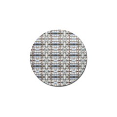 Geometric Diamonds Golf Ball Marker (4 Pack) by yoursparklingshop