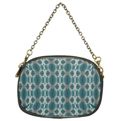 Tropical Blue Abstract Ocean Drops Chain Purses (two Sides)  by yoursparklingshop
