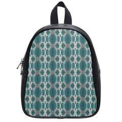 Tropical Blue Abstract Ocean Drops School Bags (small)  by yoursparklingshop