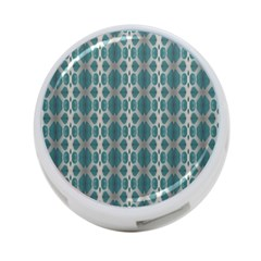 Tropical Blue Abstract Ocean Drops 4 Port Usb Hub (one Side) by yoursparklingshop