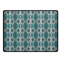 Tropical Blue Abstract Ocean Drops Fleece Blanket (small) by yoursparklingshop
