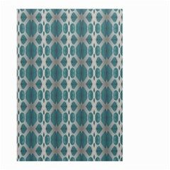 Tropical Blue Abstract Ocean Drops Small Garden Flag (two Sides) by yoursparklingshop