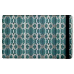 Tropical Blue Abstract Ocean Drops Apple Ipad 3/4 Flip Case by yoursparklingshop
