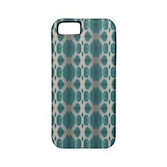 Tropical Blue Abstract Ocean Drops Apple Iphone 5 Classic Hardshell Case (pc+silicone) by yoursparklingshop