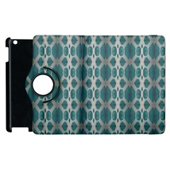 Tropical Blue Abstract Ocean Drops Apple iPad 2 Flip 360 Case by yoursparklingshop