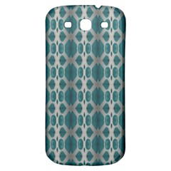 Tropical Blue Abstract Ocean Drops Samsung Galaxy S3 S Iii Classic Hardshell Back Case by yoursparklingshop
