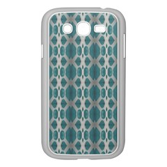 Tropical Blue Abstract Ocean Drops Samsung Galaxy Grand Duos I9082 Case (white) by yoursparklingshop