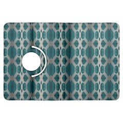Tropical Blue Abstract Ocean Drops Kindle Fire Hdx Flip 360 Case by yoursparklingshop