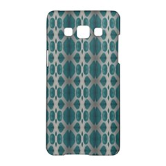 Tropical Blue Abstract Ocean Drops Samsung Galaxy A5 Hardshell Case  by yoursparklingshop