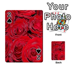 Red Roses Love Playing Cards 54 Designs