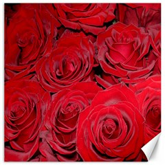 Red Roses Love Canvas 16  X 16   by yoursparklingshop