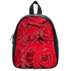 Red Roses Love School Bags (small)  by yoursparklingshop