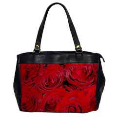 Red Roses Love Office Handbags by yoursparklingshop
