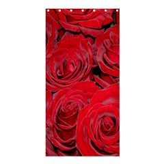 Red Roses Love Shower Curtain 36  X 72  (stall)  by yoursparklingshop