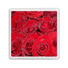 Red Roses Love Memory Card Reader (square)  by yoursparklingshop