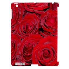 Red Roses Love Apple Ipad 3/4 Hardshell Case (compatible With Smart Cover) by yoursparklingshop