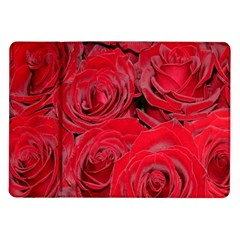 Red Roses Love Samsung Galaxy Tab 10 1  P7500 Flip Case by yoursparklingshop