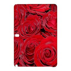 Red Roses Love Samsung Galaxy Tab Pro 12 2 Hardshell Case by yoursparklingshop