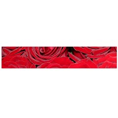 Red Roses Love Flano Scarf (large) by yoursparklingshop