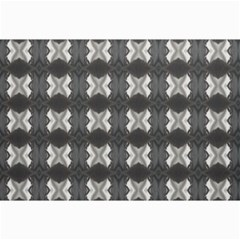 Black White Gray Crosses Collage 12  X 18  by yoursparklingshop