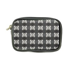 Black White Gray Crosses Coin Purse by yoursparklingshop