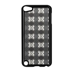 Black White Gray Crosses Apple Ipod Touch 5 Case (black) by yoursparklingshop