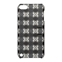 Black White Gray Crosses Apple Ipod Touch 5 Hardshell Case With Stand by yoursparklingshop