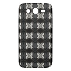 Black White Gray Crosses Samsung Galaxy Mega 5 8 I9152 Hardshell Case  by yoursparklingshop