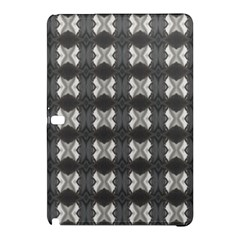 Black White Gray Crosses Samsung Galaxy Tab Pro 10 1 Hardshell Case by yoursparklingshop