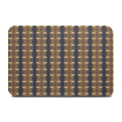 Black Brown Gold Stripes Plate Mats by yoursparklingshop