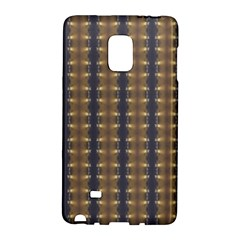 Black Brown Gold Stripes Galaxy Note Edge by yoursparklingshop