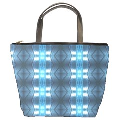 Blue Diamonds Of The Sea 1 Bucket Bags by yoursparklingshop