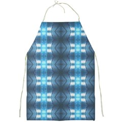 Blue Diamonds Of The Sea 1 Full Print Aprons by yoursparklingshop